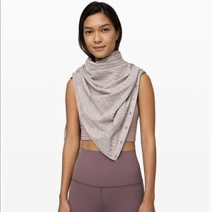 Lululemon vinyasa scarf new with tags